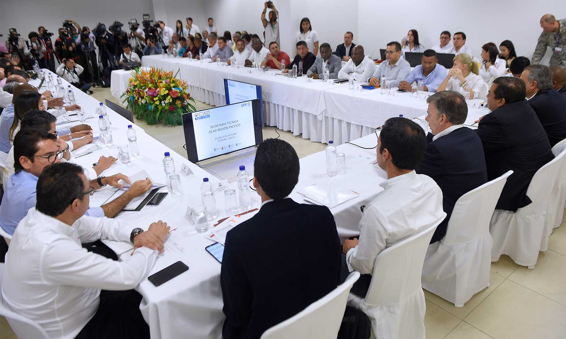 En la jornada del Ocad Regional, al Departamento de Cauca se le aprobó el mayor monto de recursos a través de ocho proyectos por $95.400 millones.