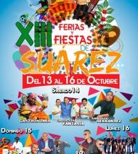 Suárez 13 al 16 de octubre