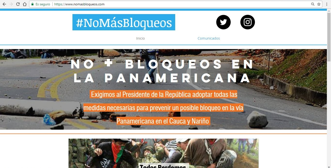 nomasbloqueos - Google Chrome