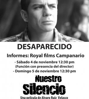 Afiche película nuestro silencio