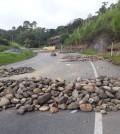 Piedras en la vía 1