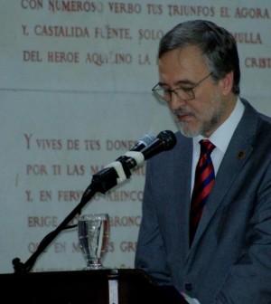 Pronunció discurso 190 años Unicauca