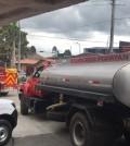 Vehículos cisterna y apoyo
