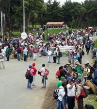 Foto 1 Movilización campesinos