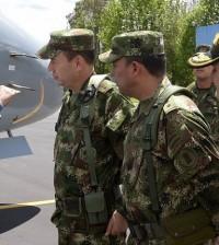 Foto 1 Ofensiva contra el delito -ministro y mandos militares en Popayán