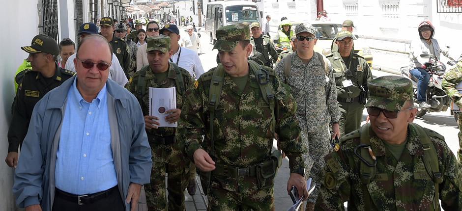 Foto 2 Ofensiva contra el delito en Popayán