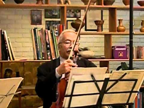 José Tomás Illera violinista
